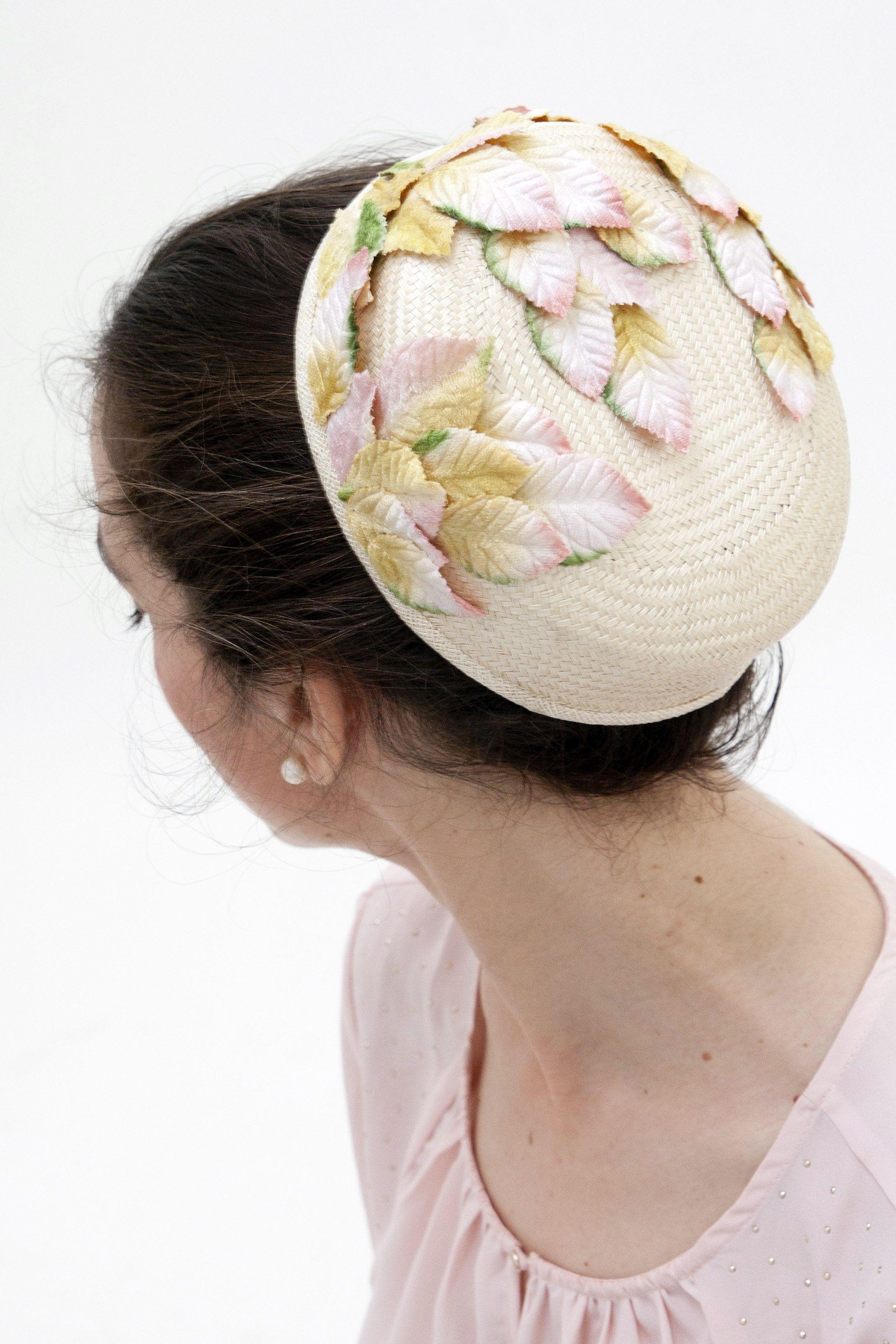 Jackie Kennedy Pillbox Hat: Cream Pillbox Hat, 60s Style Accessory, Pillbox Hat Veil