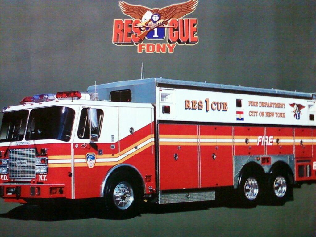 Fdny Rescue 1 Fire Trucks Fdny Fdny Rescue 1