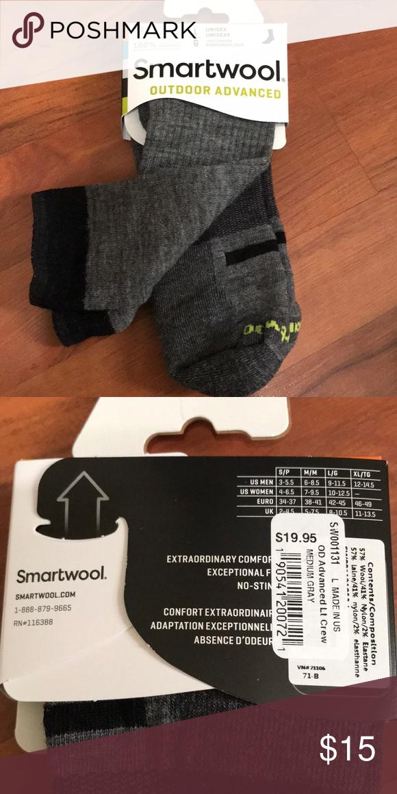 Smartwool socks size L Smartwool socks size L Never worn In