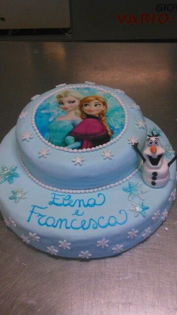 Frozen cake pdz
