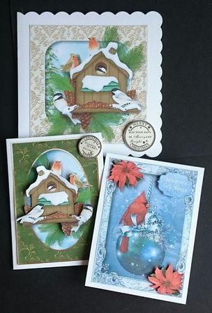 Christmas Birds Bumper Kit on Craftsuprint - View Now!