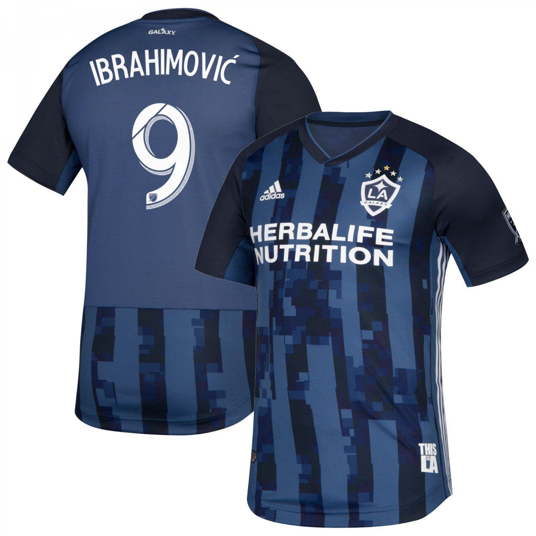 Zlatan Ibrahimovic #9 LA Galaxy adidas 2019 2020 AWAY Team