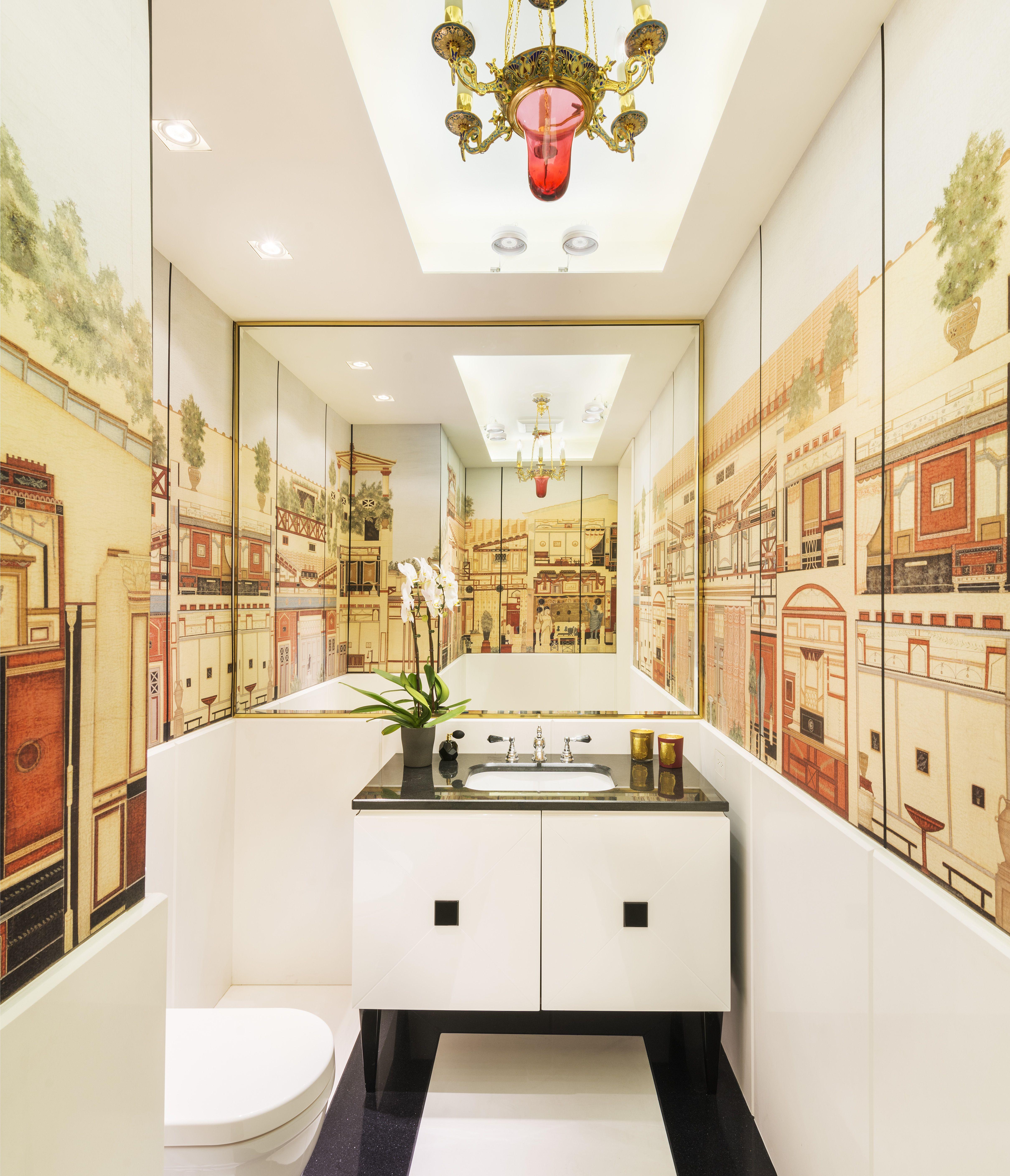 chic modern bathroom, with oriental influences #beirut #home #design ...