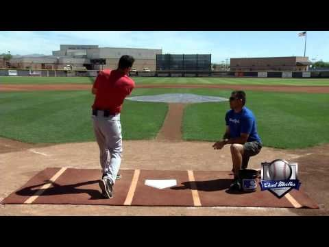 How To Hit A Baseball Timing Drill Chad Moeller Mov Youtube Baseball Baseball Hitting Drill