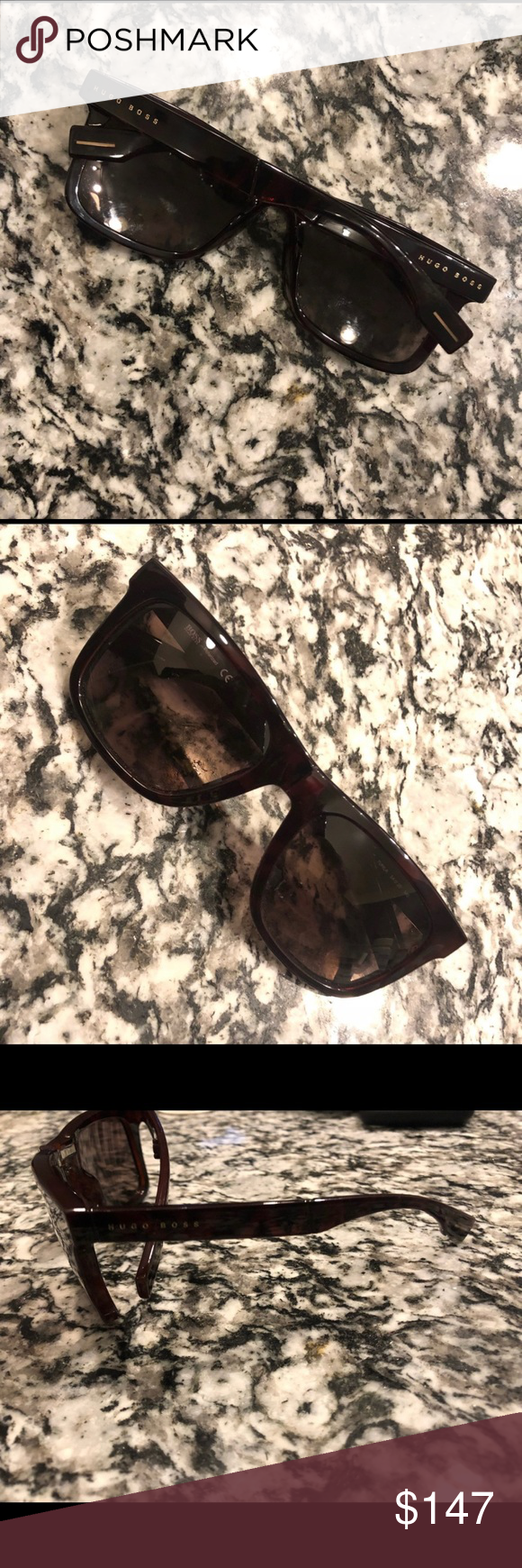 af6694222c82 Hugo Boss Dark Brown Tortoise Sunglasses BOSS 0446/S. Brand New Hugo Boss  Accessories Sunglasses