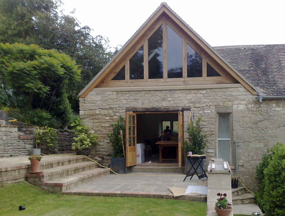 glass oak gable Architect, House styles, Building a house