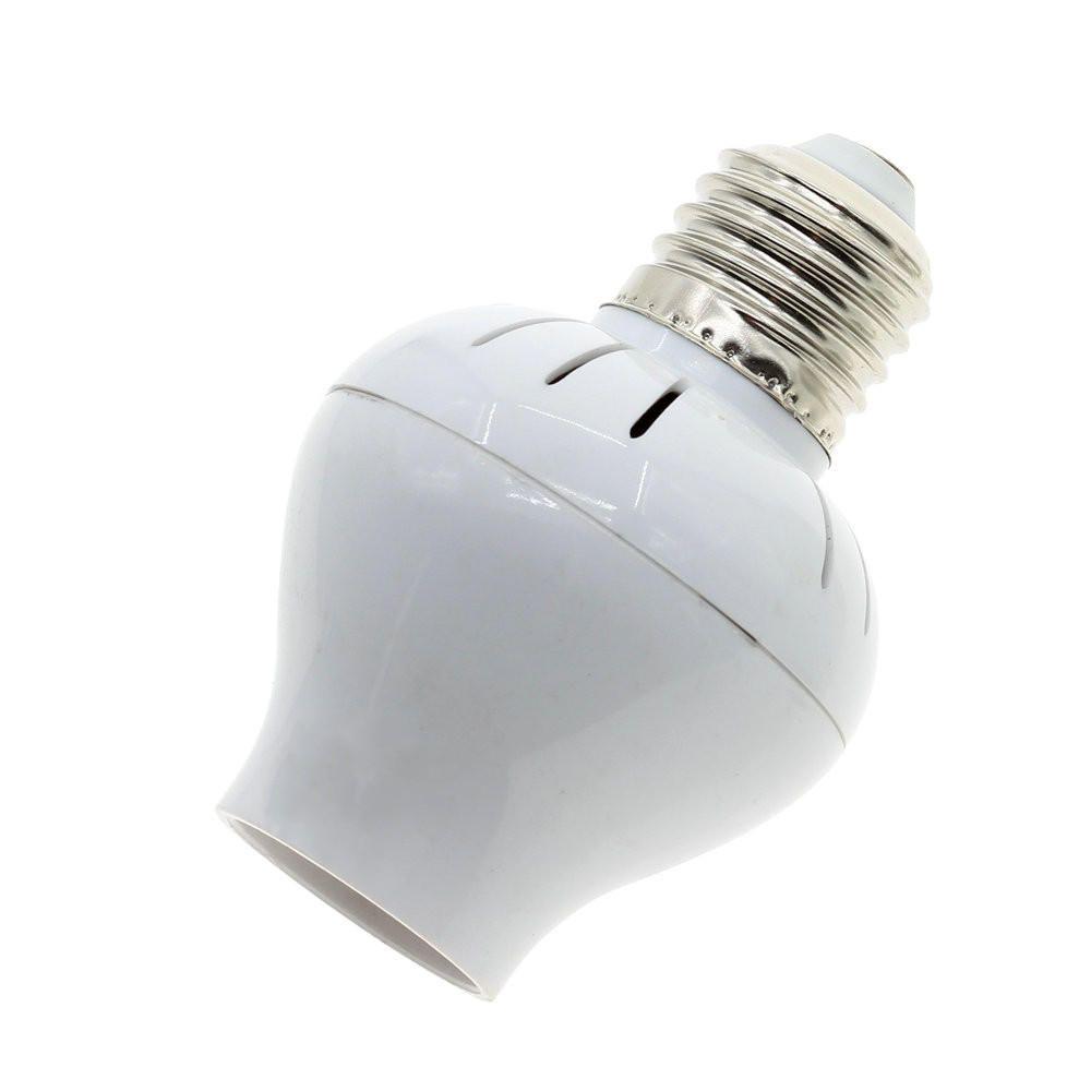 Us 8 07 Ac100v 240v 60w E27 Microwave Radar Sensor Light Control Led Lamp Base Holder Bulb Adapter Ac100v240v60w Microwave Radar Sensor Light Control L