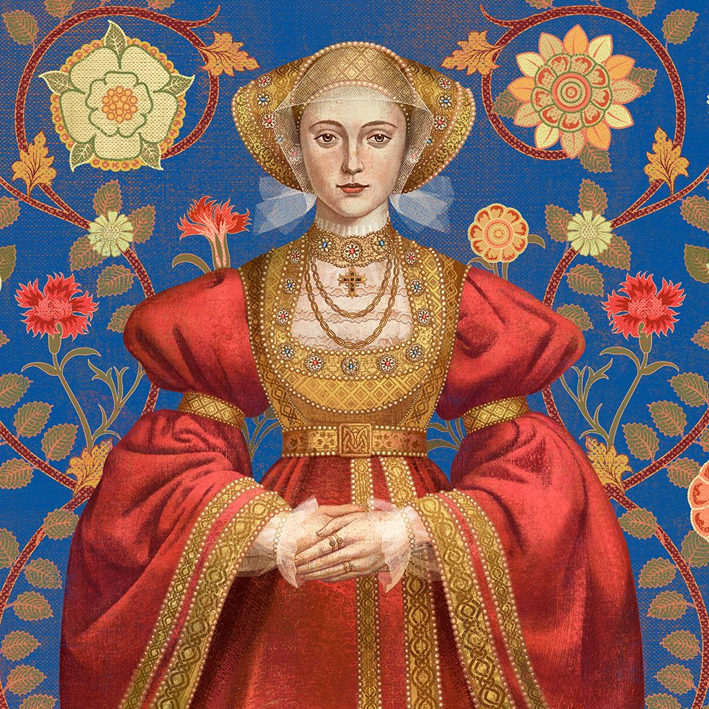 Photo of Anne Of Kleve Six Tudor Queens Alison Weir cover book