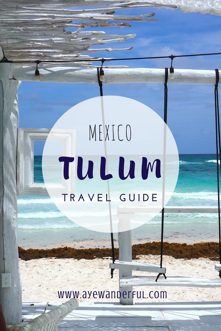 55f18cda9a68 Read the Ultimate Tulum Travel Guide on www.ayewanderful.com.