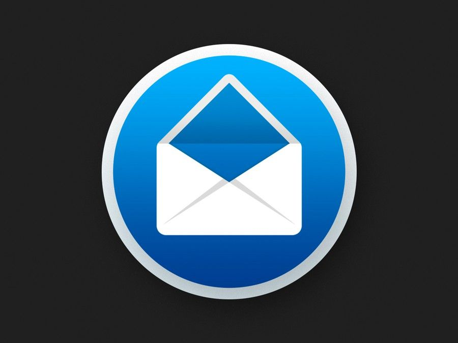 Create a vibrant icon for my email client on Mac  by Jetro