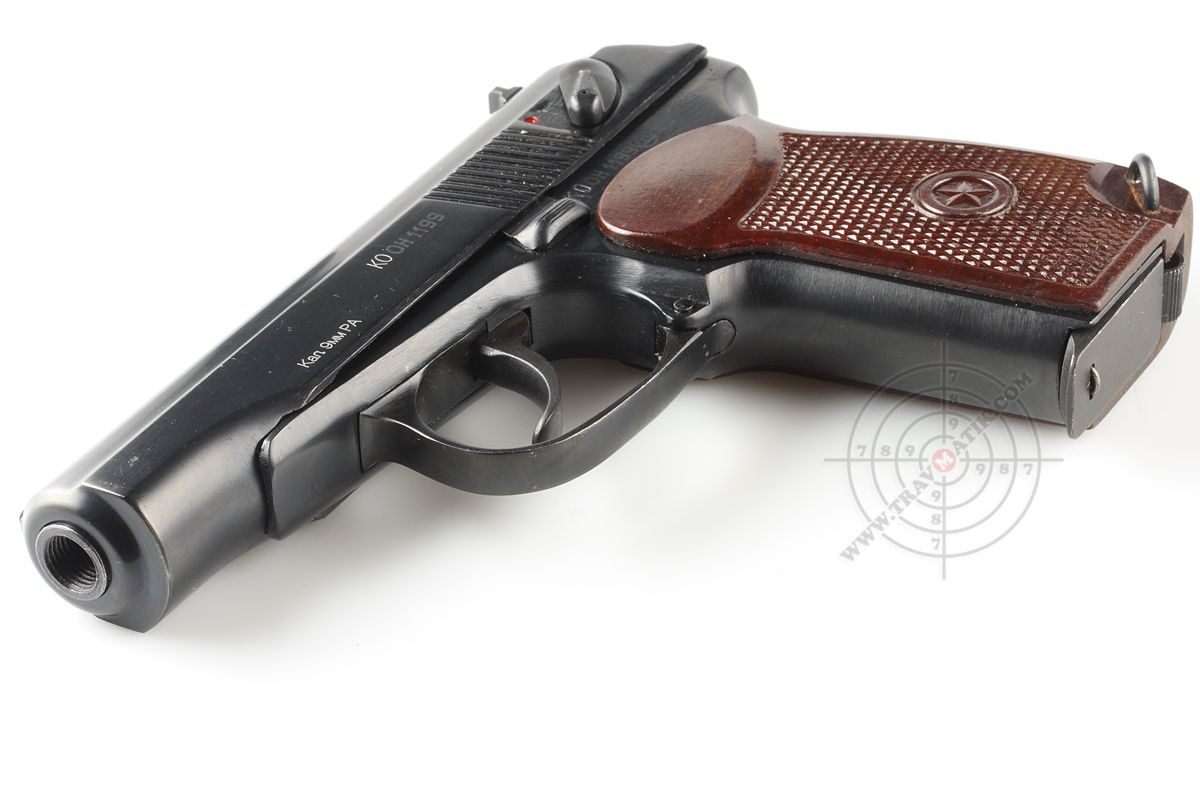 The Pmsh 1 A Less Lethal Version Of Makarov Pm Lethal Weapon