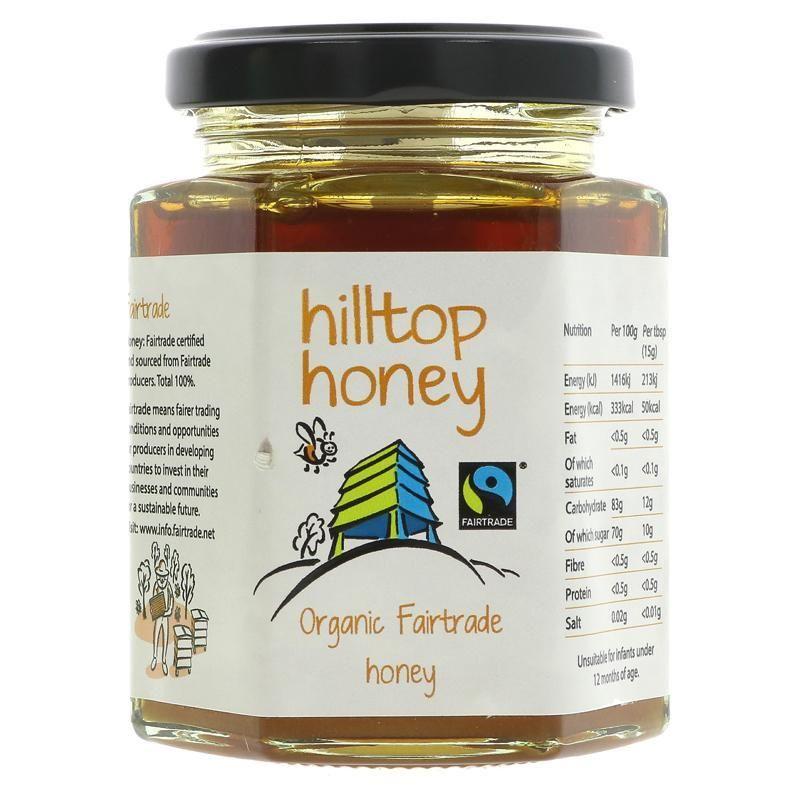 Hilltop honey honey organic fairtrade