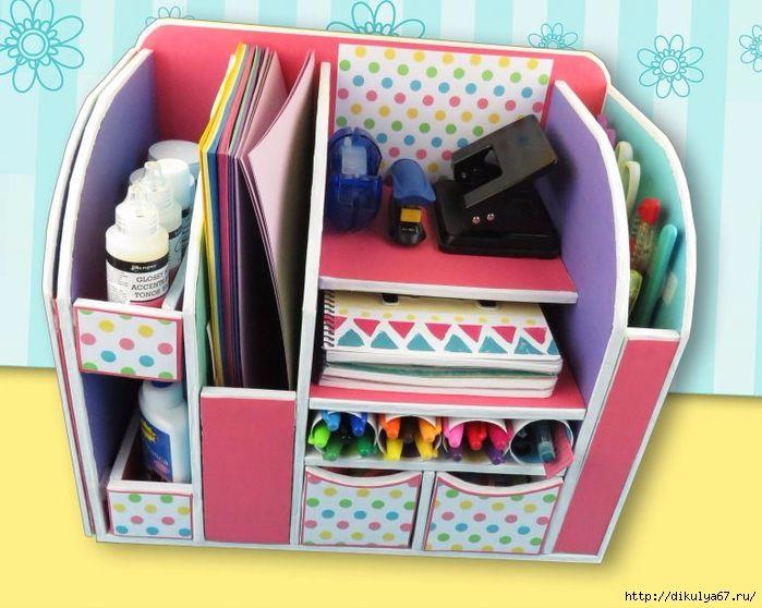 organizador muy lindo manualidades a pasos manos a la obra pinterest cart n. Black Bedroom Furniture Sets. Home Design Ideas