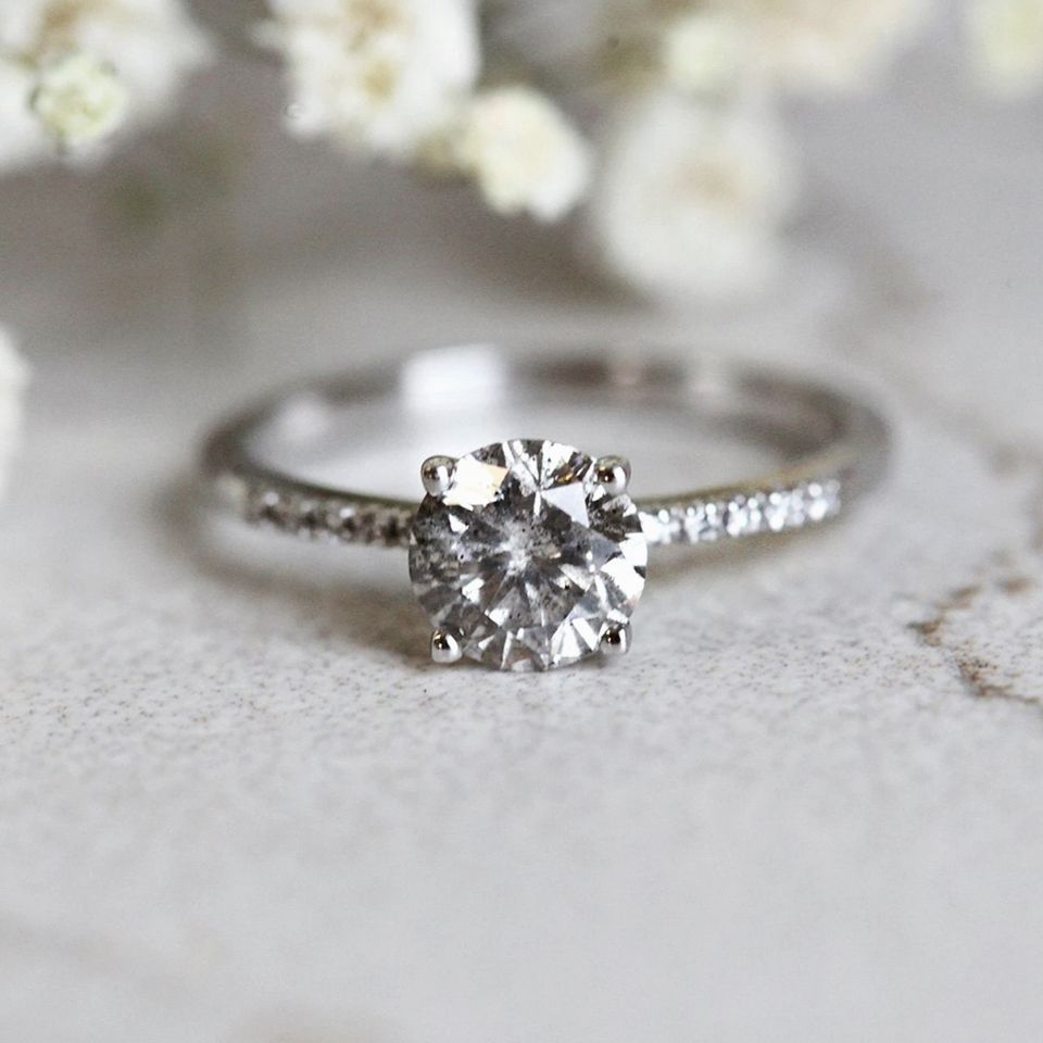 12 Beautiful And Ethical Gemstone Engagement Rings For The Unconventional Bride To Be In 2020 Gemstone Engagement Rings Gemstone Engagement Engagement Rings