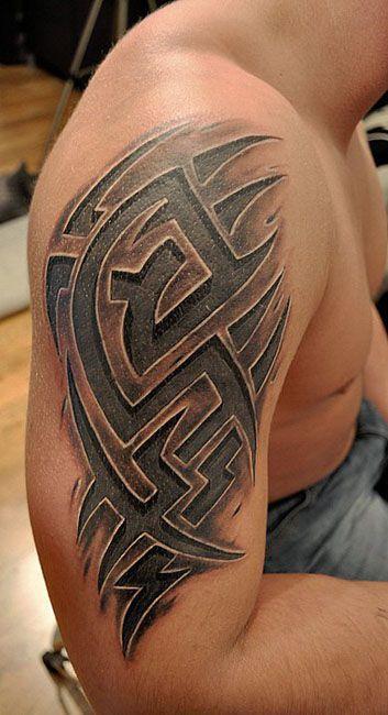 Mejores Tatuajes De Tribales En 3d Tatuajes De Tribales En 3d Fotos De Tatuajes De Tribales E Disenos De Tatuajes Tribales Tatuajes Tribales Hombres Tatuajes