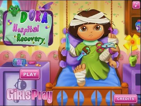 Dora Hospital Recovery Kids Baby Games