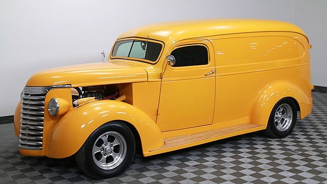 1938 Gmc Panel Truck 400 Ci Automatic Presented As Lot S229 At