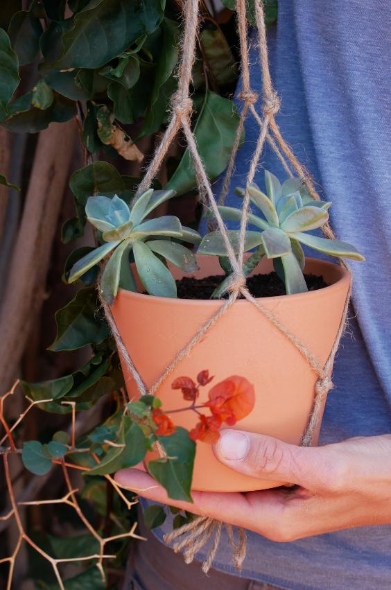 Blumenampel Selber Machen Super Einfache Schritt Fur