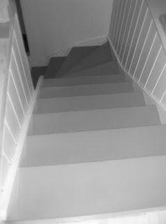 Fruen fra Trondheim: Oppussing av trapp - (nesten) ferdig!