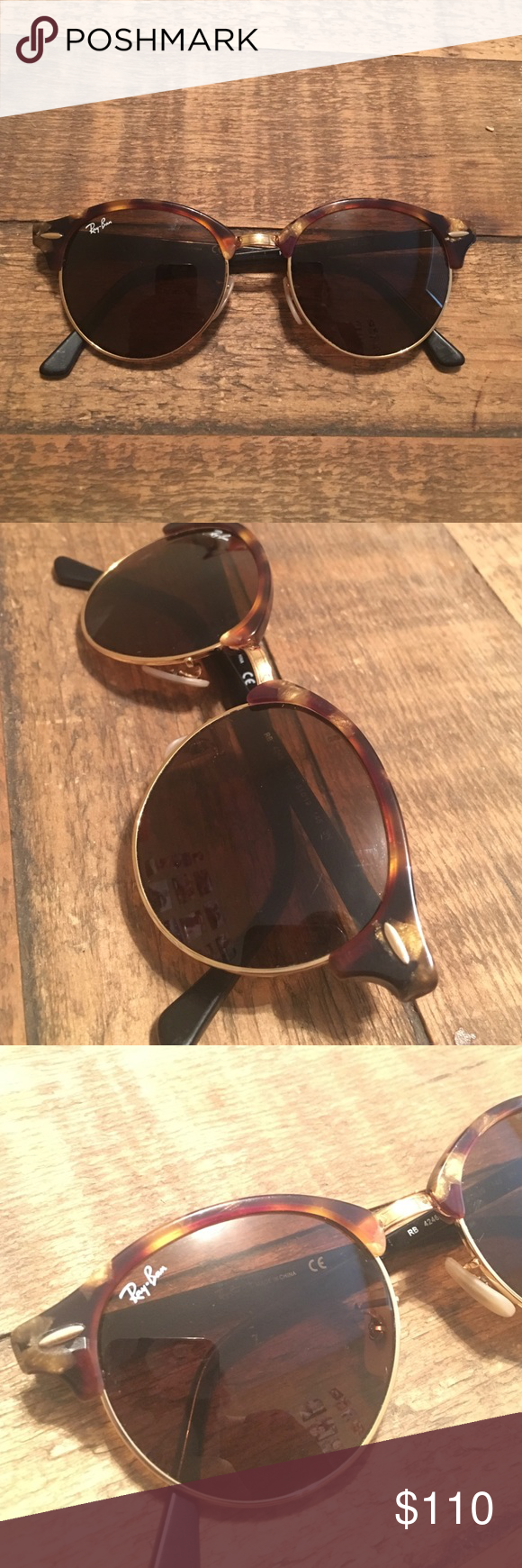 Ray ban sunglasses for couple - Ray Ban Sunglasses Round Ray Ban Sunglasses In Great Condition A Couple Of Scratches