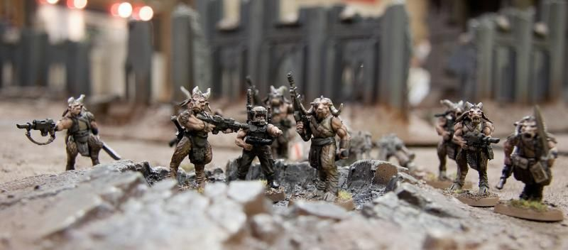 Imperial Beastmen Imperial Guard Penal Squad Imperial Guard Warhammer