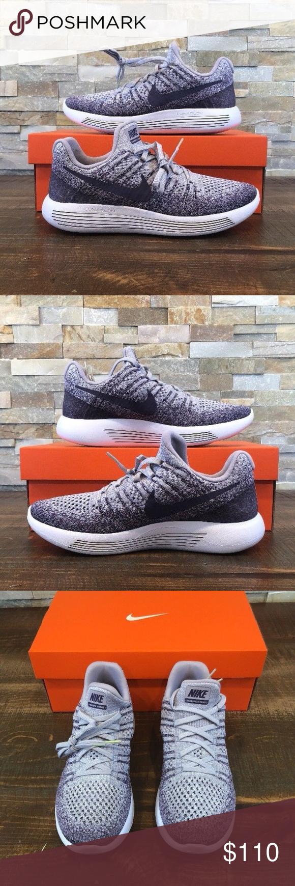 48218b8e024 Nike Lunarepic Low Flyknit 2 Nike Womens Lunarepic Low Flyknit 2 Size 8.5 Running  Shoe Purple