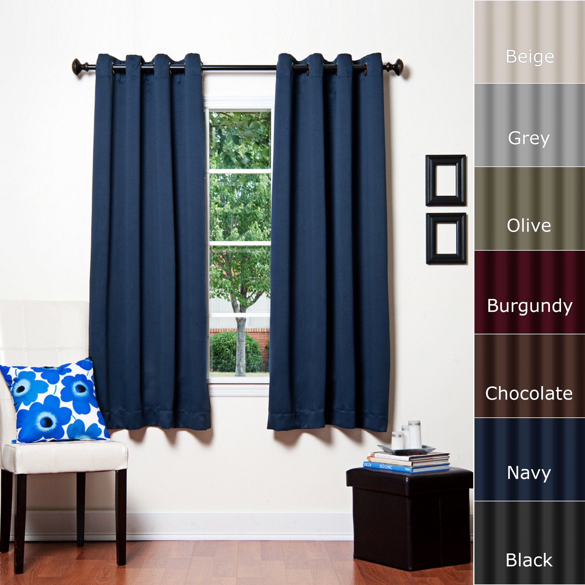 Best Home Fashion Thermal Insulated Blackout Curtain Antique