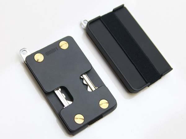 The Liquid Wallet With Key Holder Key Wallet Minimalist Wallet