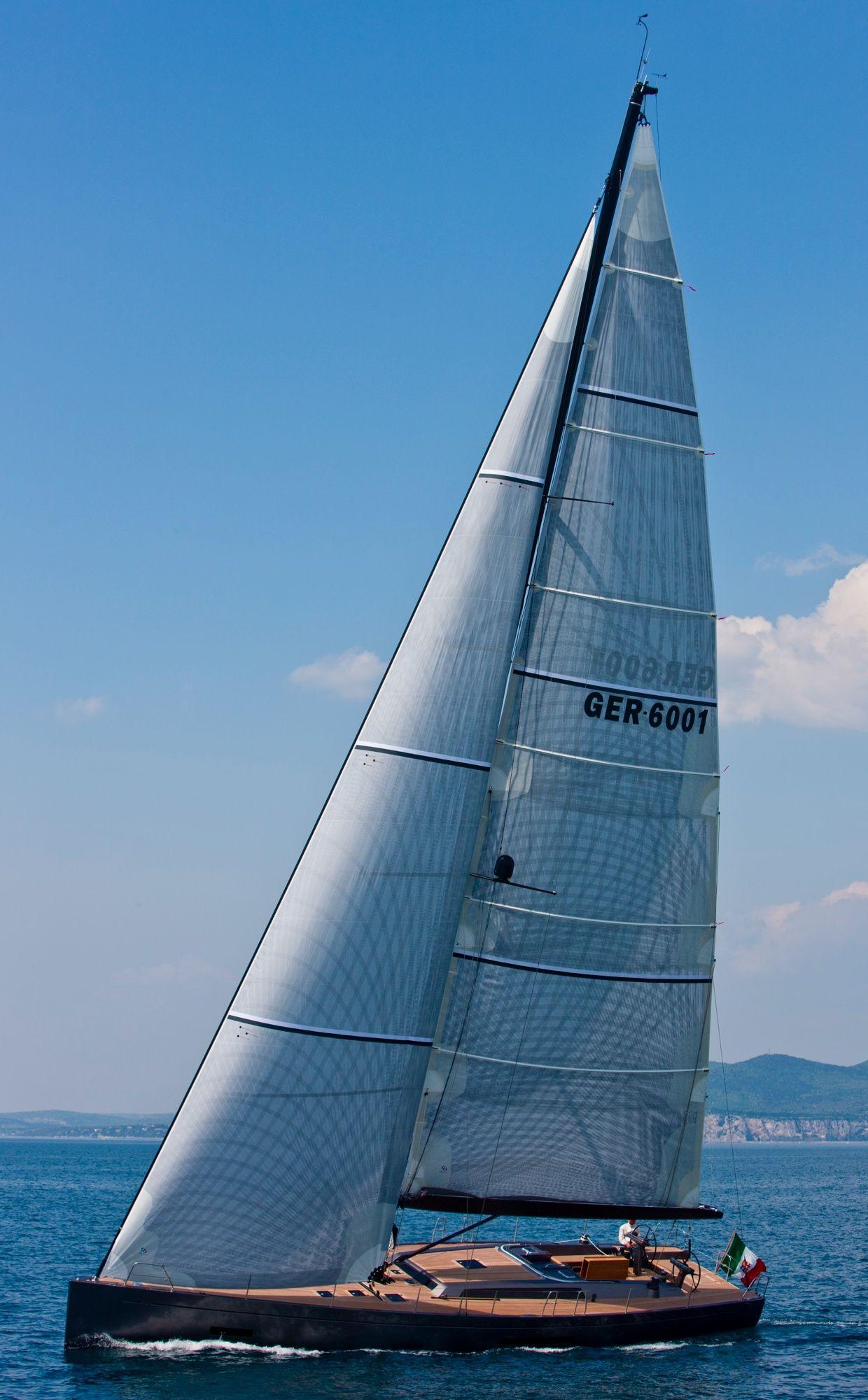 Solaris 60 Sailing Sailing Yacht Sailing Boat