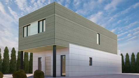 Monzon 152m2 Entramado ligero Casas MODULARES Pinterest - casas modulares