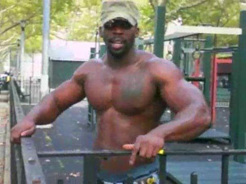 Ghetto workout (push ups, pull ups, and dips) | Fitness