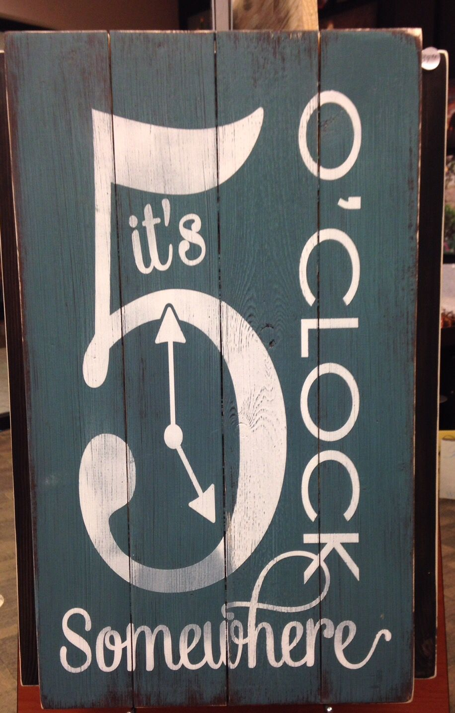 not just a sign for a home bar or man cavethis would make a great functioning clock too