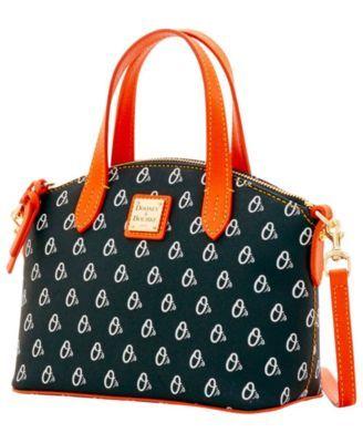 4d962b9ce0 Dooney & Bourke Baltimore Orioles Ruby Mini Crossbody Satchel - Black/Orange