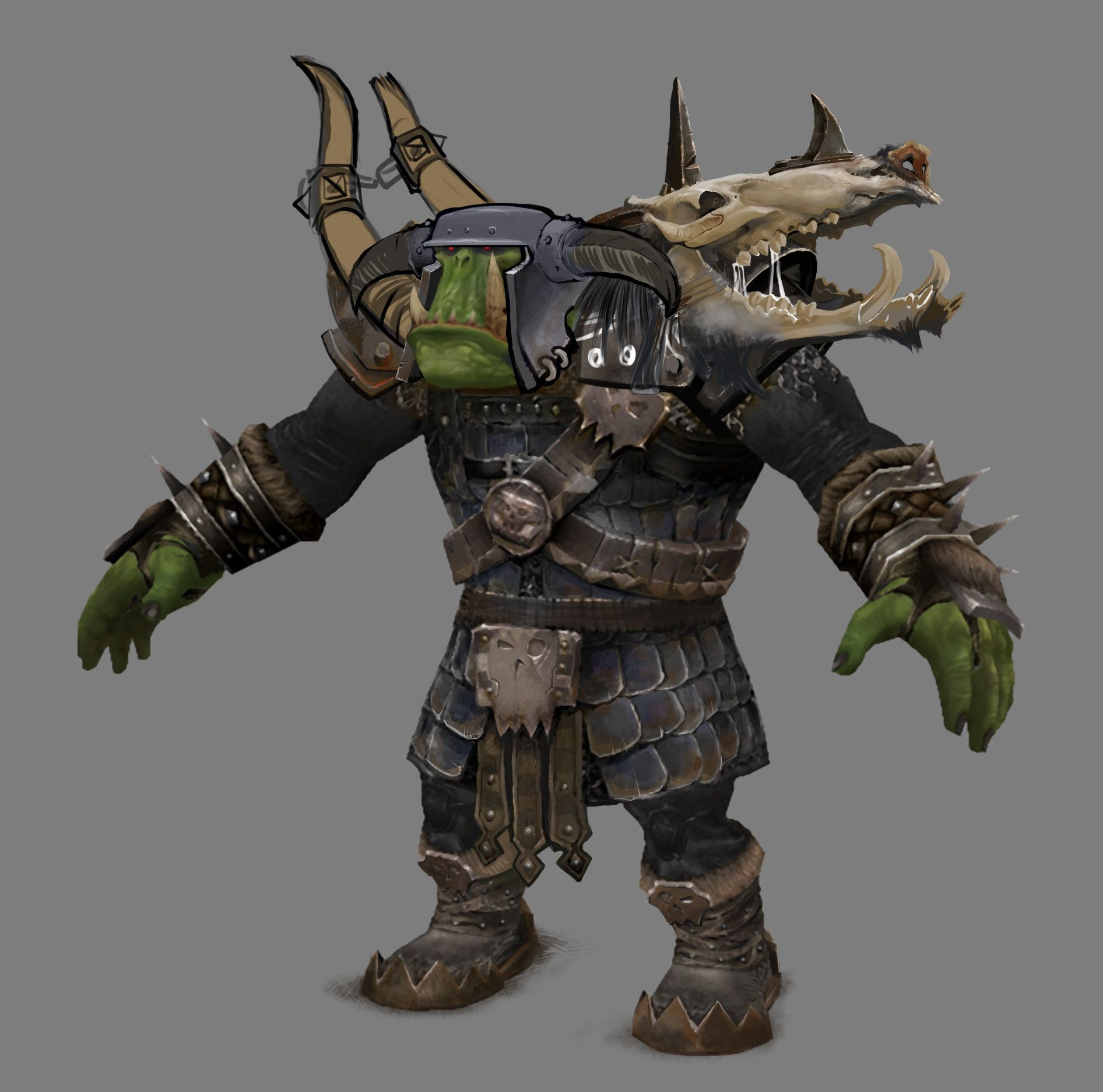 Orc armor