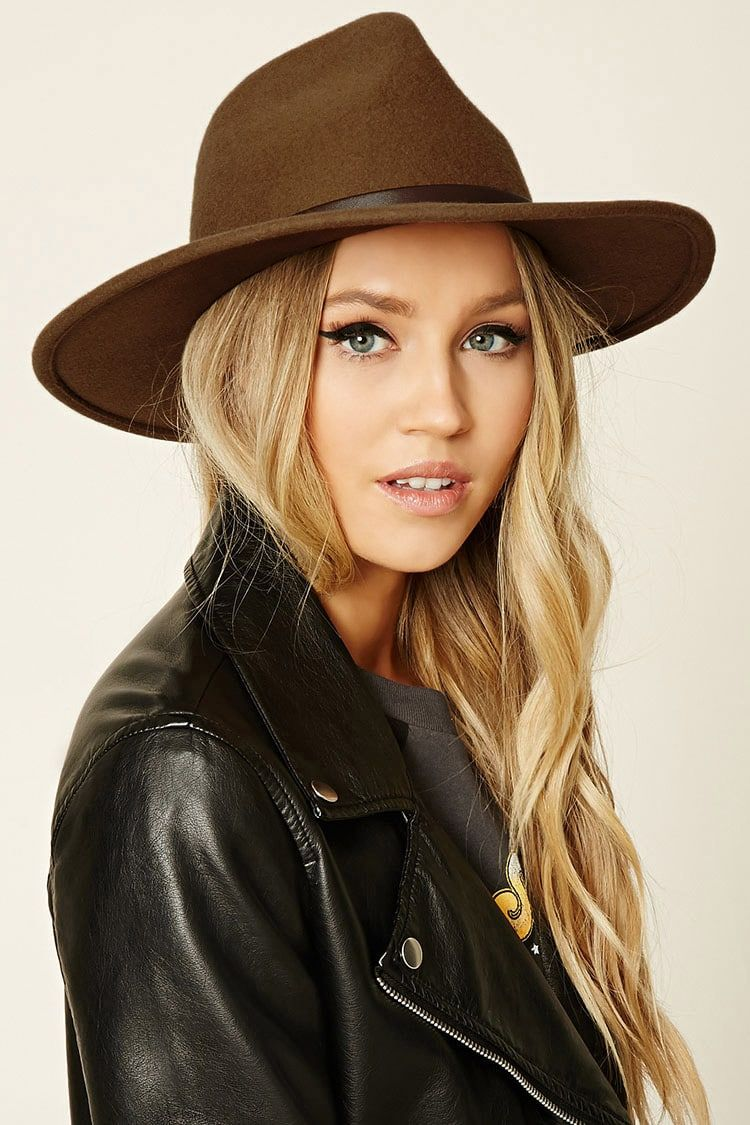 Felt Fedora Hat - Accessories for Women  31912fe4db93