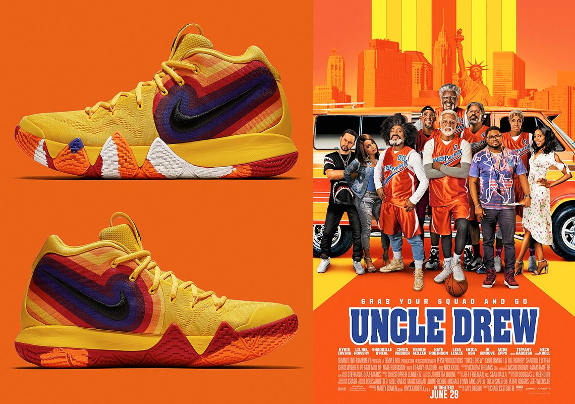 e8aaae41586 Nike Kyrie 4 Uncle Drew 943807-700 Release Info  thatdope  sneakers  luxury   dope  fashion  trending