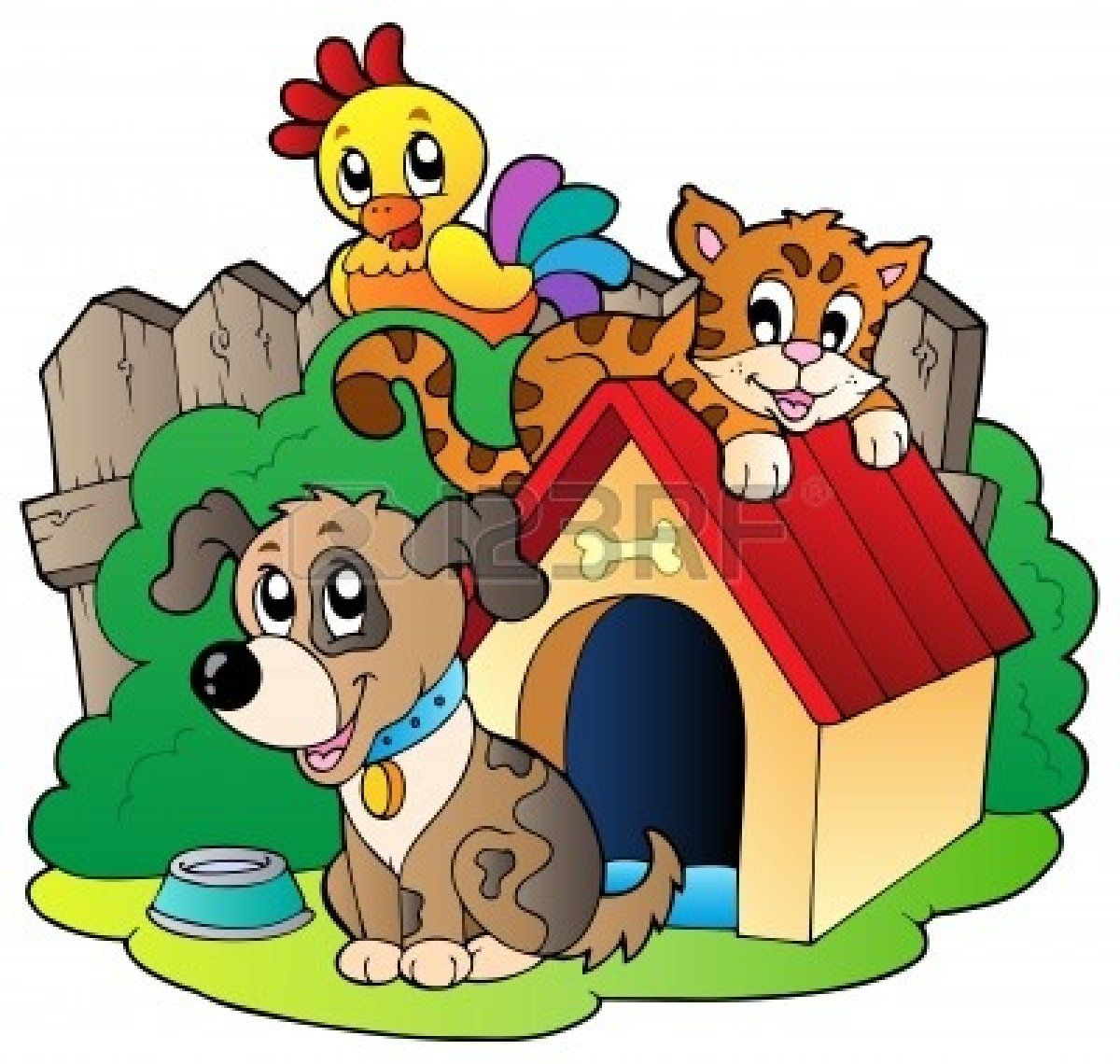 Group Of Animals Clipart Free Large Images Animal Clipart Free Animal Clipart Cartoon Animals