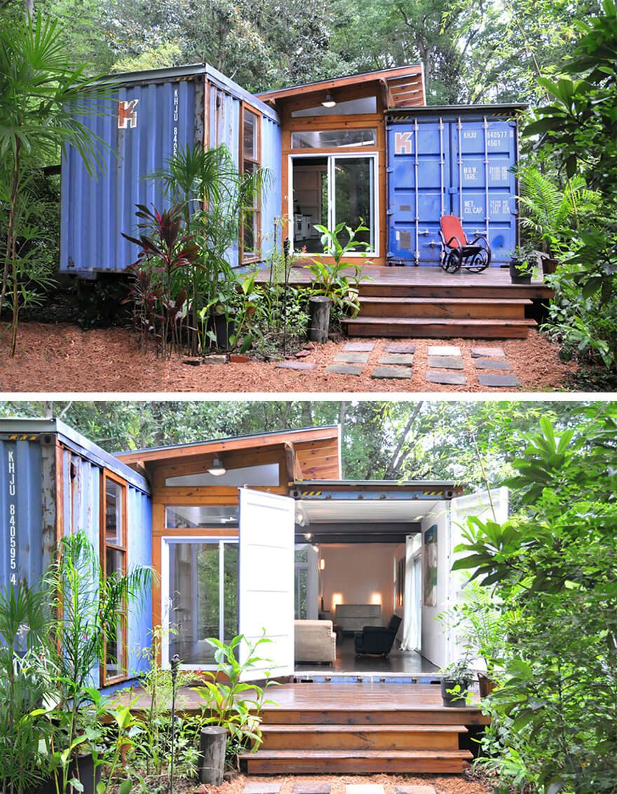 tiny houses petites maisons am nagement espace treehouses tinyhouses hqe house pinterest. Black Bedroom Furniture Sets. Home Design Ideas