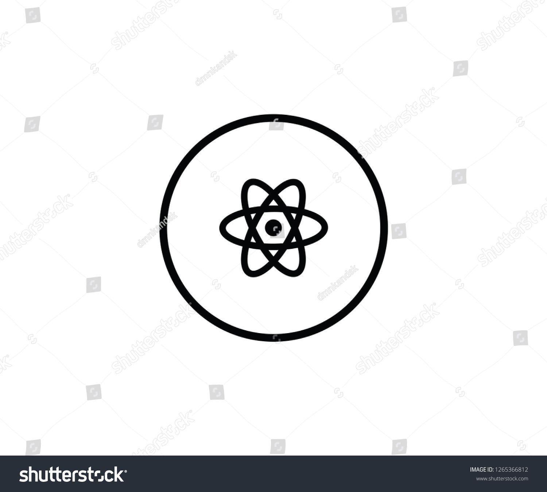 Atom symbol nuclear icon logo science    Atom symbol nuclear icon logo science  Carolines wissenschaft Atomsymbol nukleare Ikone Logo Wissenschaft  symbol Atom sci
