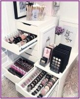 25+ Best Makeup Storage Ideas for Organizing Your Makeup Items images