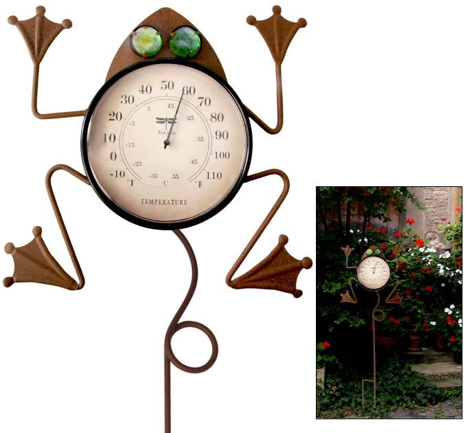 Decorative Outdoor Thermometer Home Decor