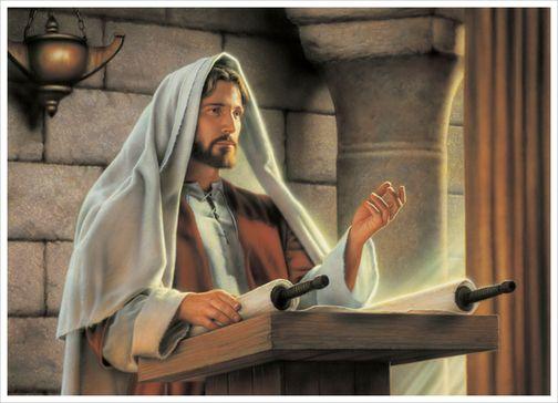 Resultado de imagem para JESUS NA SINAGOGA SIMON DEWEY