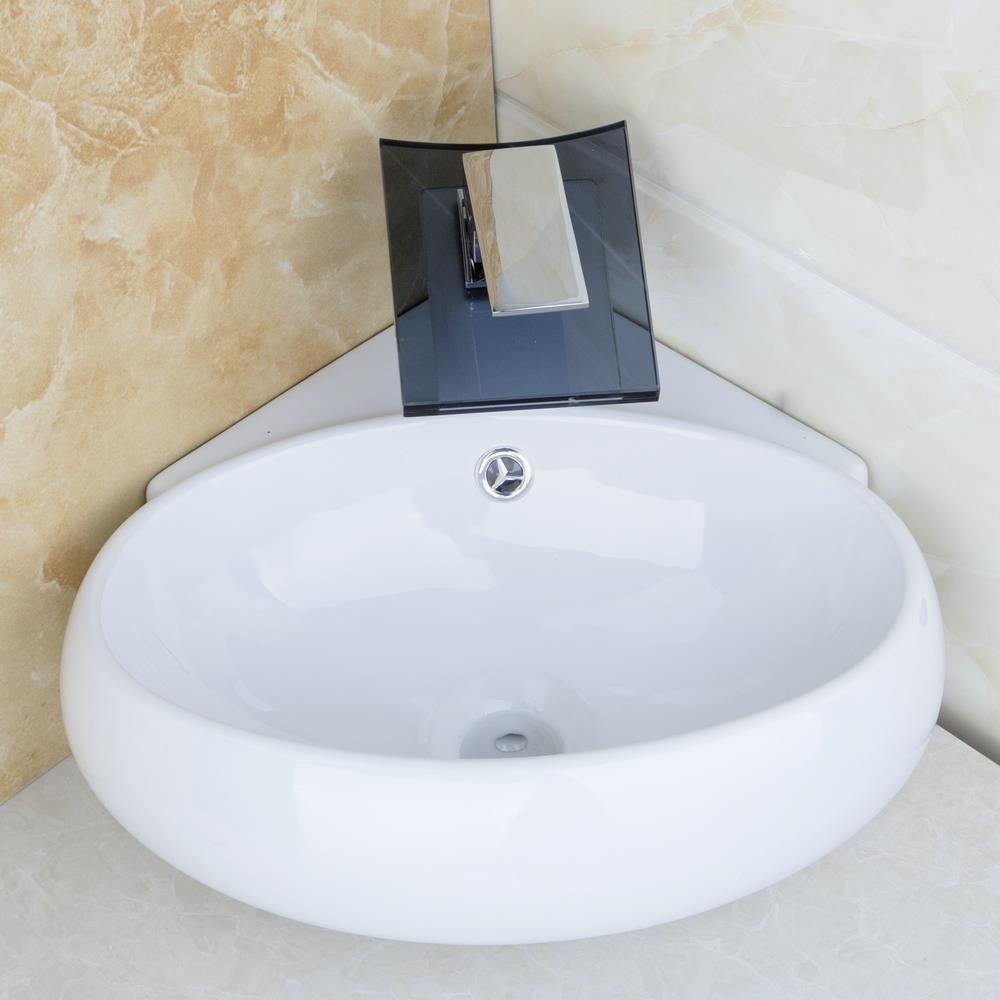 $142.30 | Bathroom Ceramic Basin Sink Faucet Set bacia set torneira ...