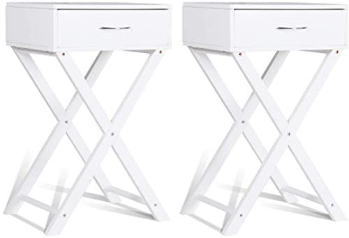 Best New Giantex Nightstand End Table X Shape Living Room 640 x 480