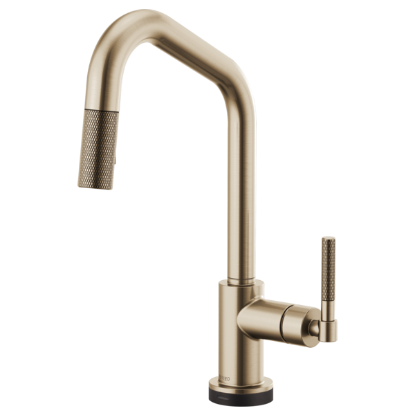 SmartTouch® Pull-Down Faucet With Angled Spout And Knurled