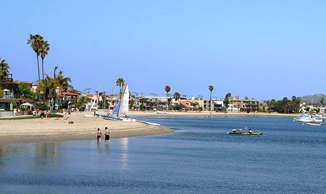 Mission Bay San Go California