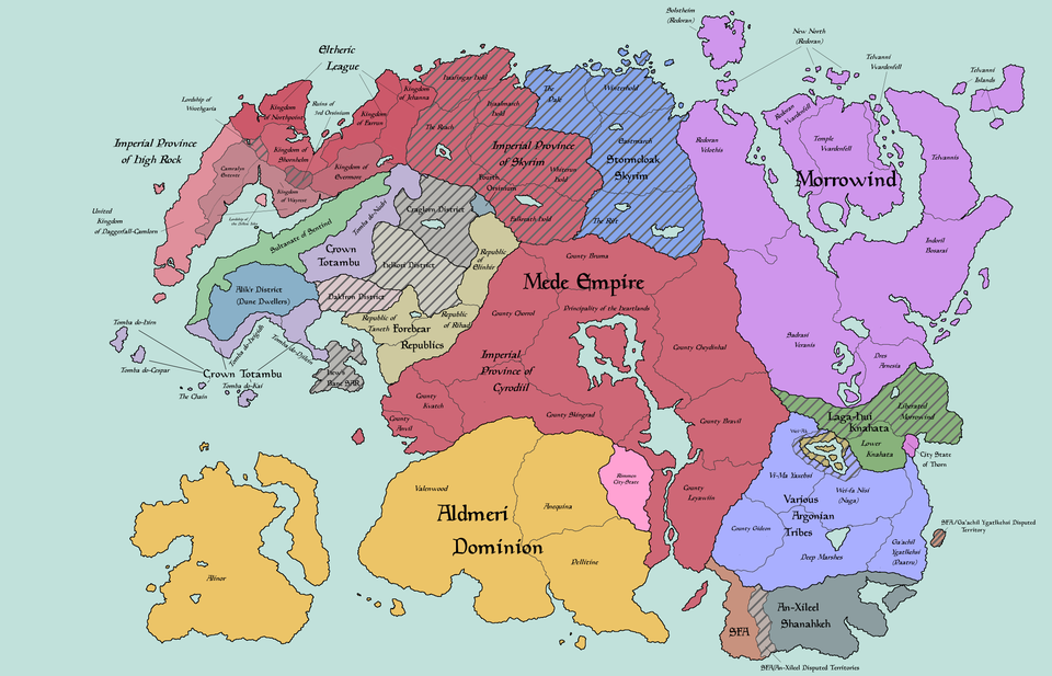 Pin by thelacychef on Elder Scrolls in 2020 Map, Discord