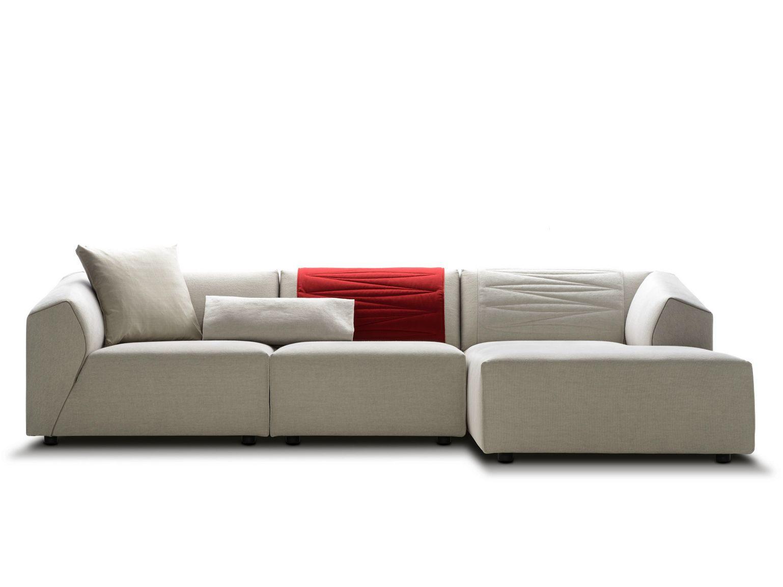 THEA Sofa with chaise longue by MDF Italia design Lina Obregon ...