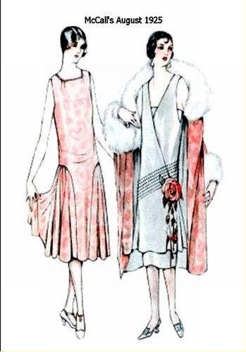 Robes t plus habill es les ann es folles pinterest - Mode annee 20 ...