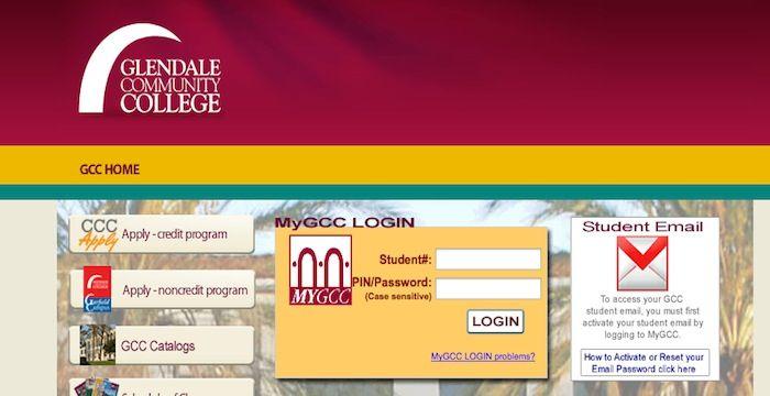 Gcc Login Student Portal Online Student Login